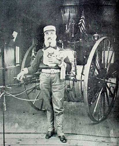 Genest Ottignon, Westwood's first fire chief.