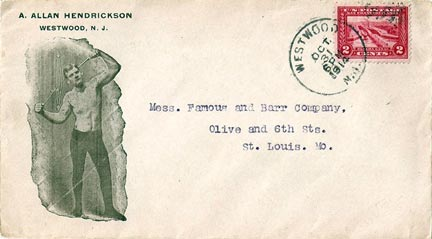 Envelope dated 10/31/1914, Westwood, NJ.