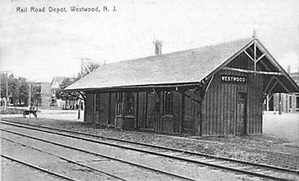 Original Train Station - 1907.