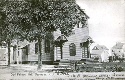 Odd Fellows' Hall - 1908.